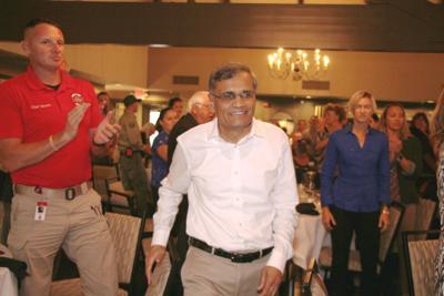 Desai gets lifetime achievement award at Healthcare Heroes