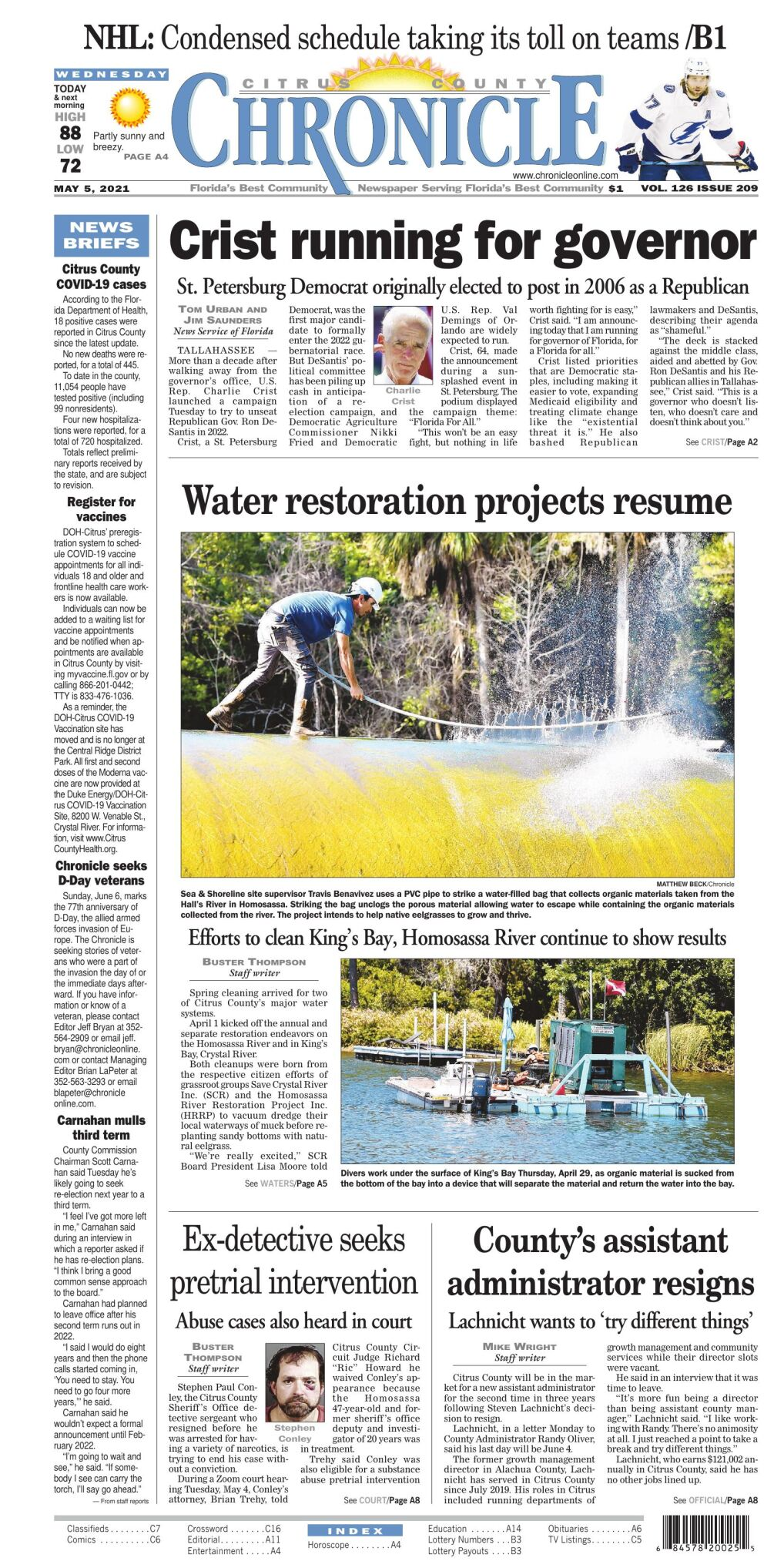 Citrus County Chronicle e edition May 5, 2021