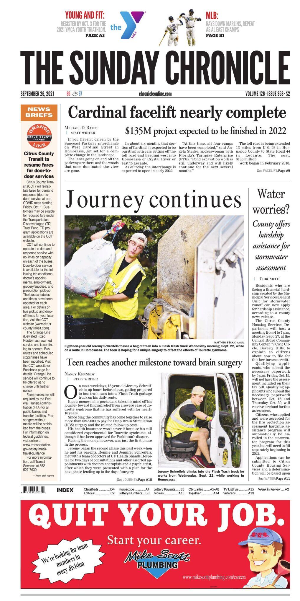 Citrus County Chronicle e-edition Sep 26, 2021