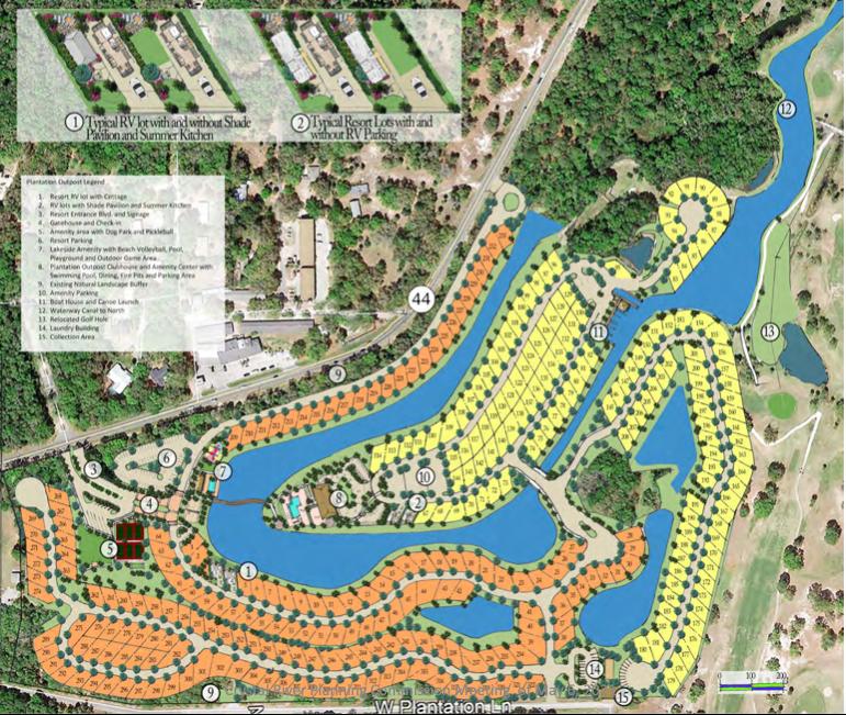 Plantation Outpost Club & Resort Plan
