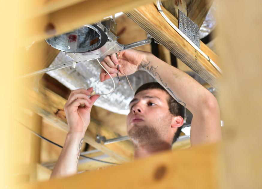 County builders enjoying housing boom