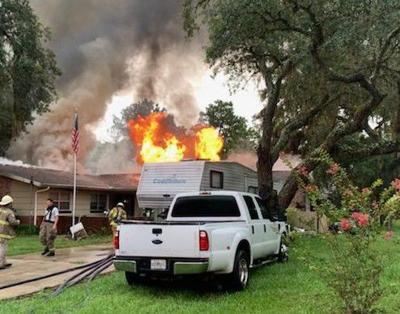 South Jean Avenue Fire