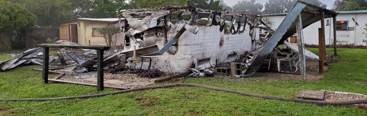 Sept. 19, 2021, Hernando House Fire