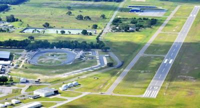 Inverness airport aerial