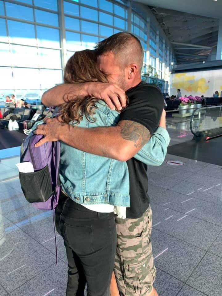 Derrick Tanya Keller Hug