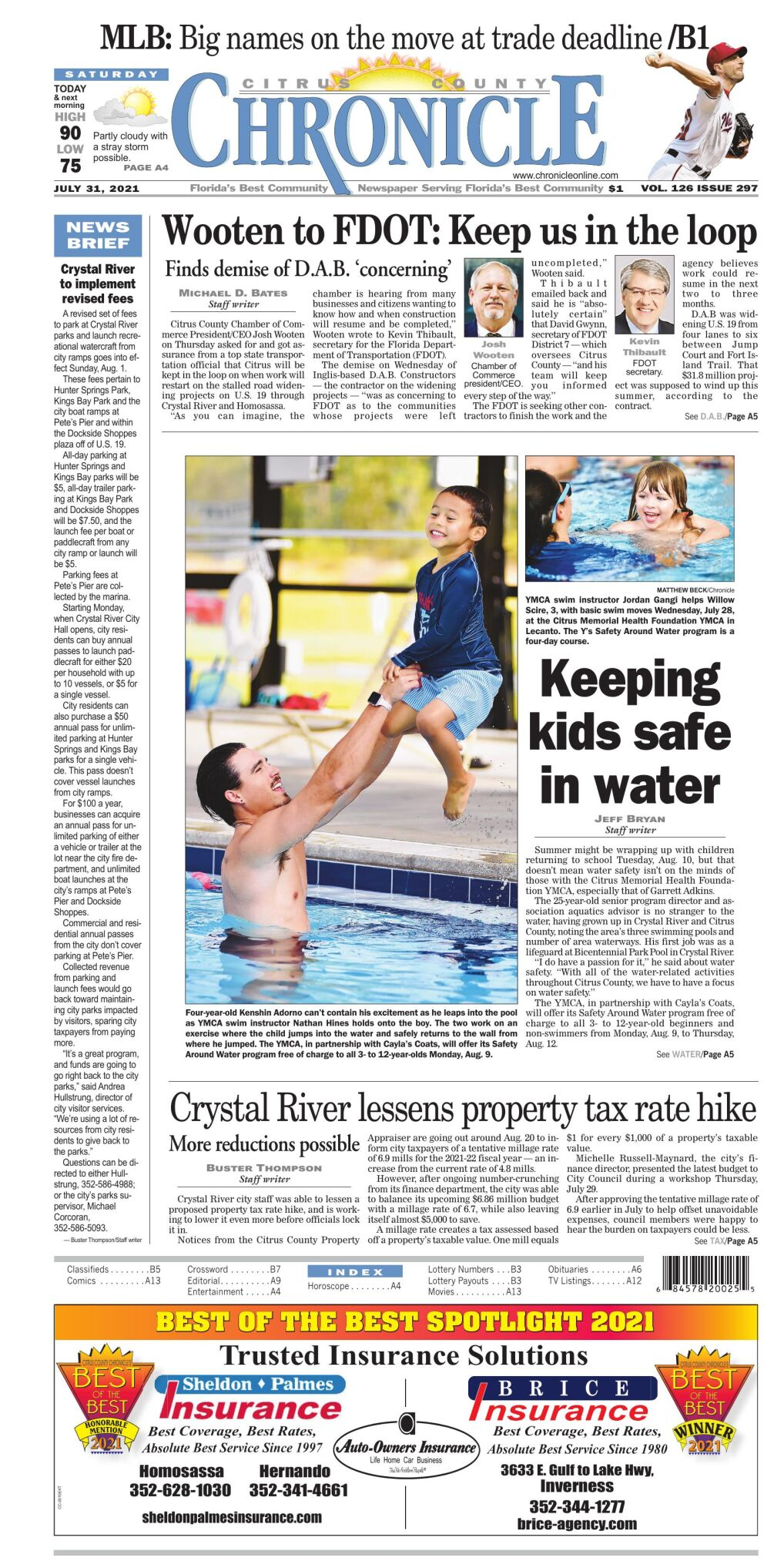Citrus County Chronicle e-edition July 31, 2021
