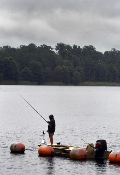 Rainy Fisherman