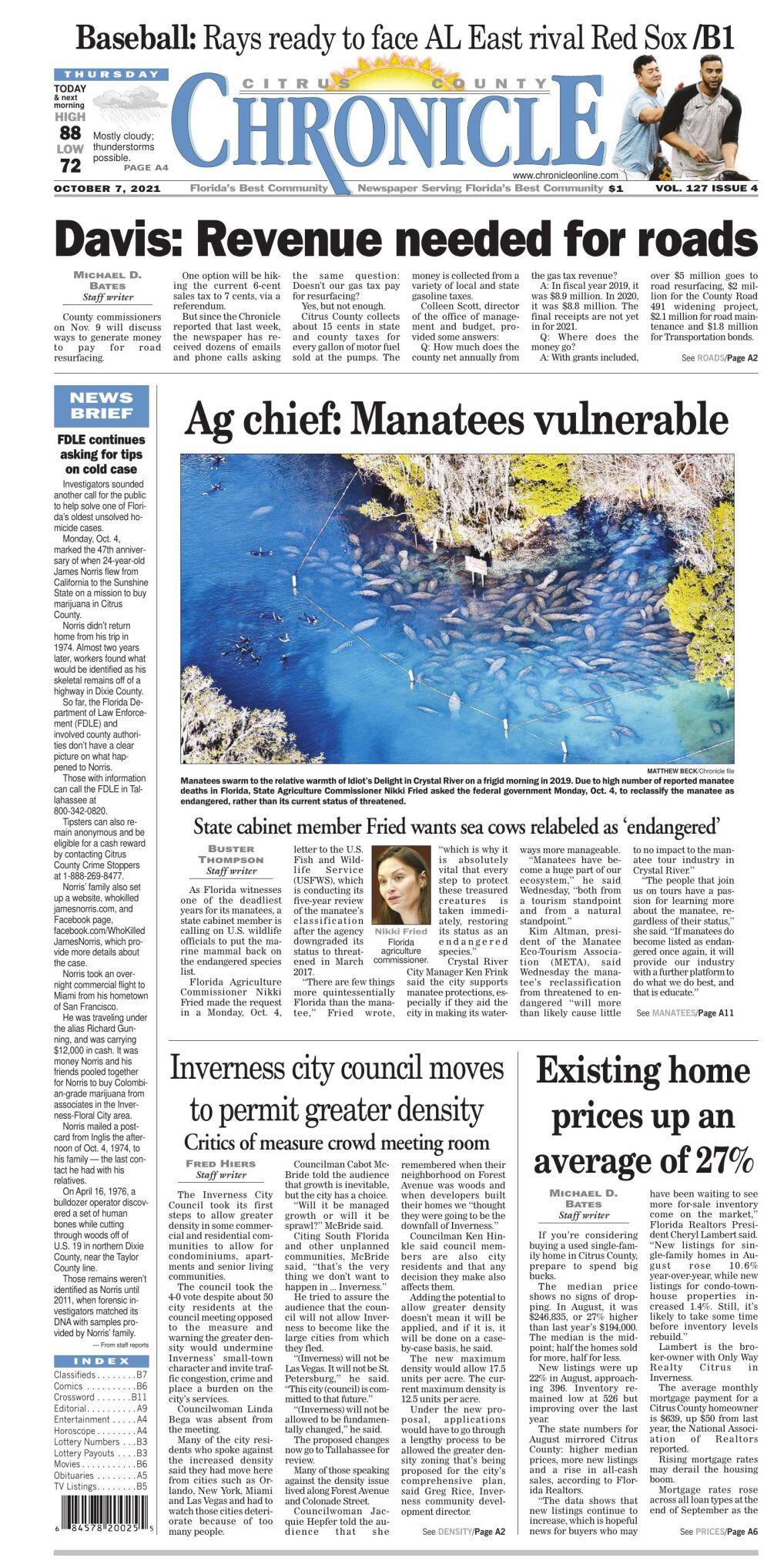 Citrus County Chronicle e-edition Oct 7, 2021