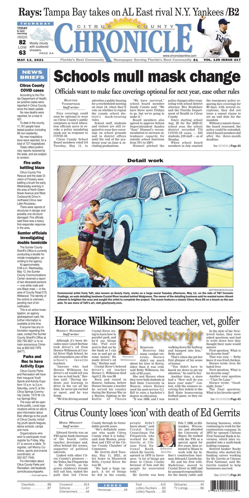 Citrus County Chronicle e edition May 13, 2021