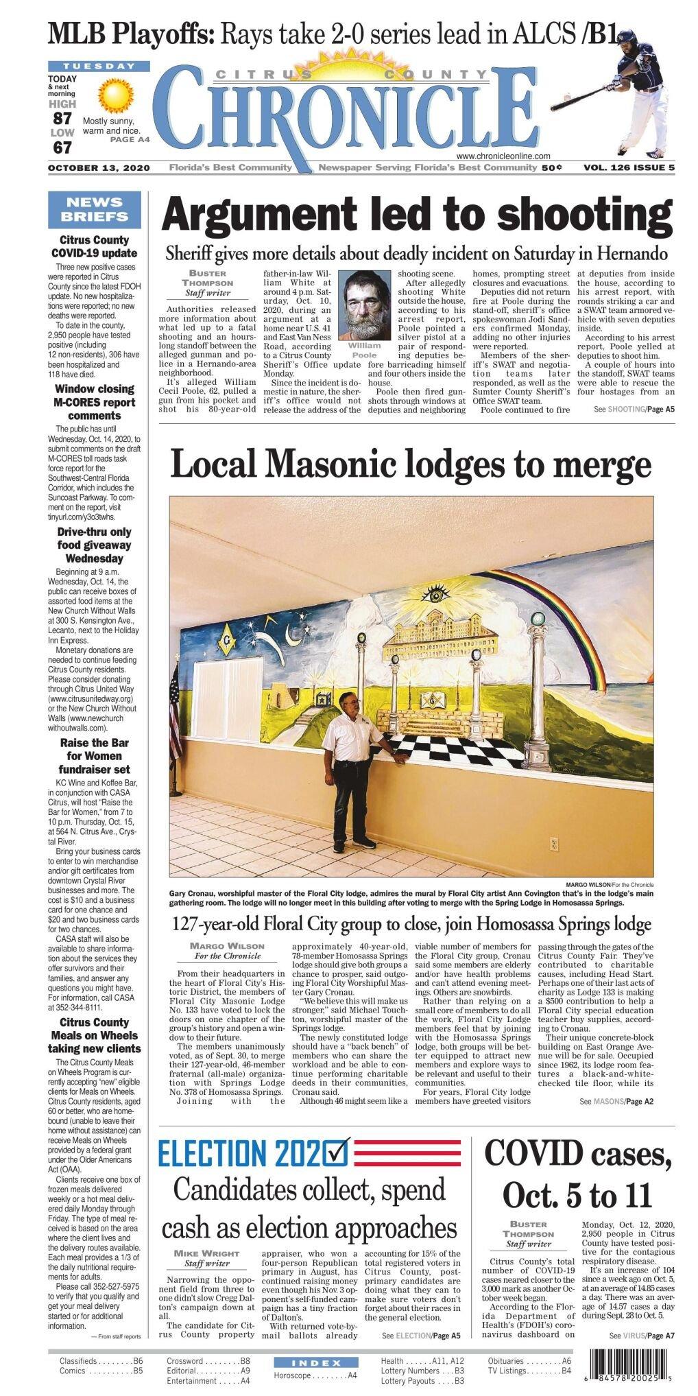 Citrus County Chronicle e edition Oct 13, 2020