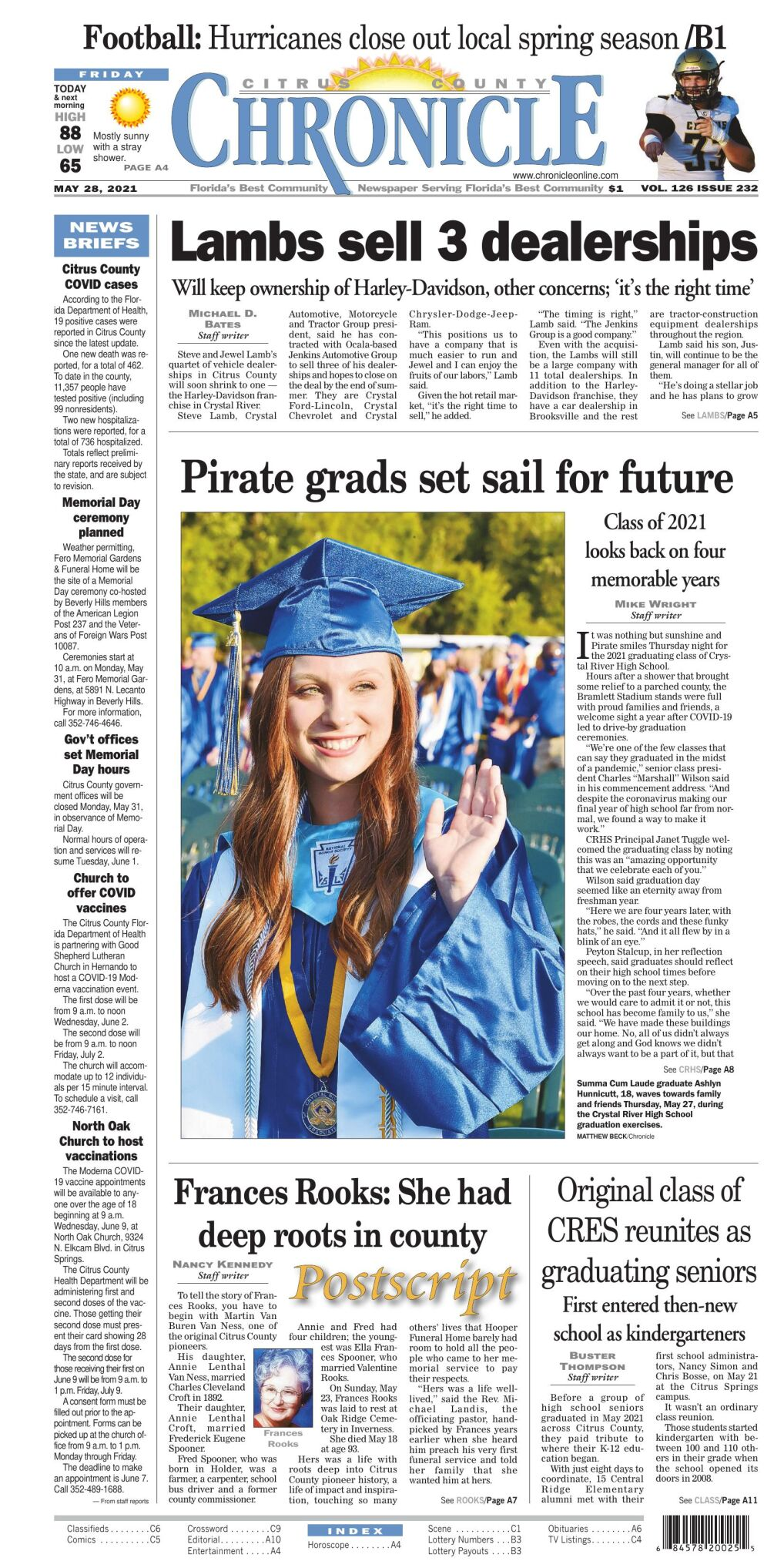 Citrus County Chronicle e edition May 28, 2021