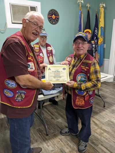 Local submariner inducted into prestigious Holland Club of the USSVI