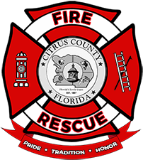 Citrus County Fire Rescue CCFR Logo