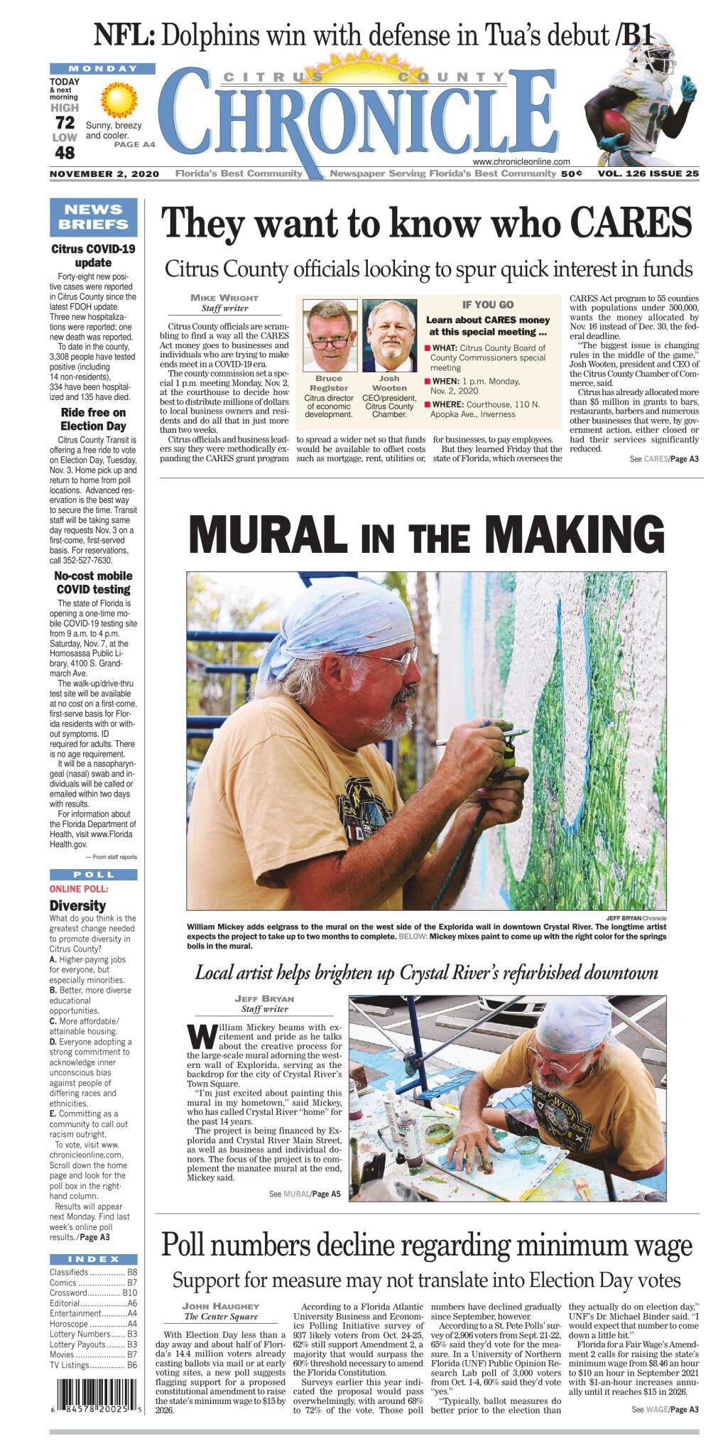 Citrus County Chronicle e edition Nov 2, 2020