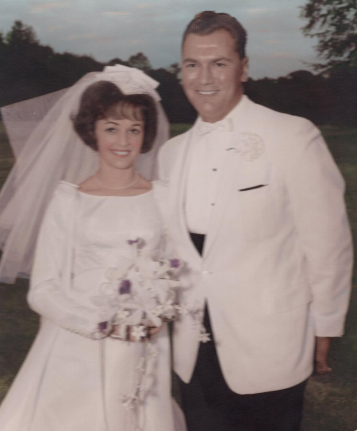 Richard and Claire Laxton anniversary