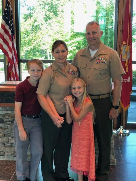 Leading Marines Raising Kids Husband And Wife Assume Colonel