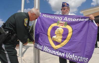 CCSO flies the purple flag