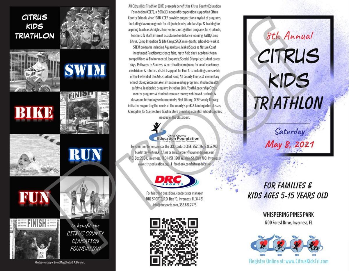 Citrus Kids Triathlon Brochure