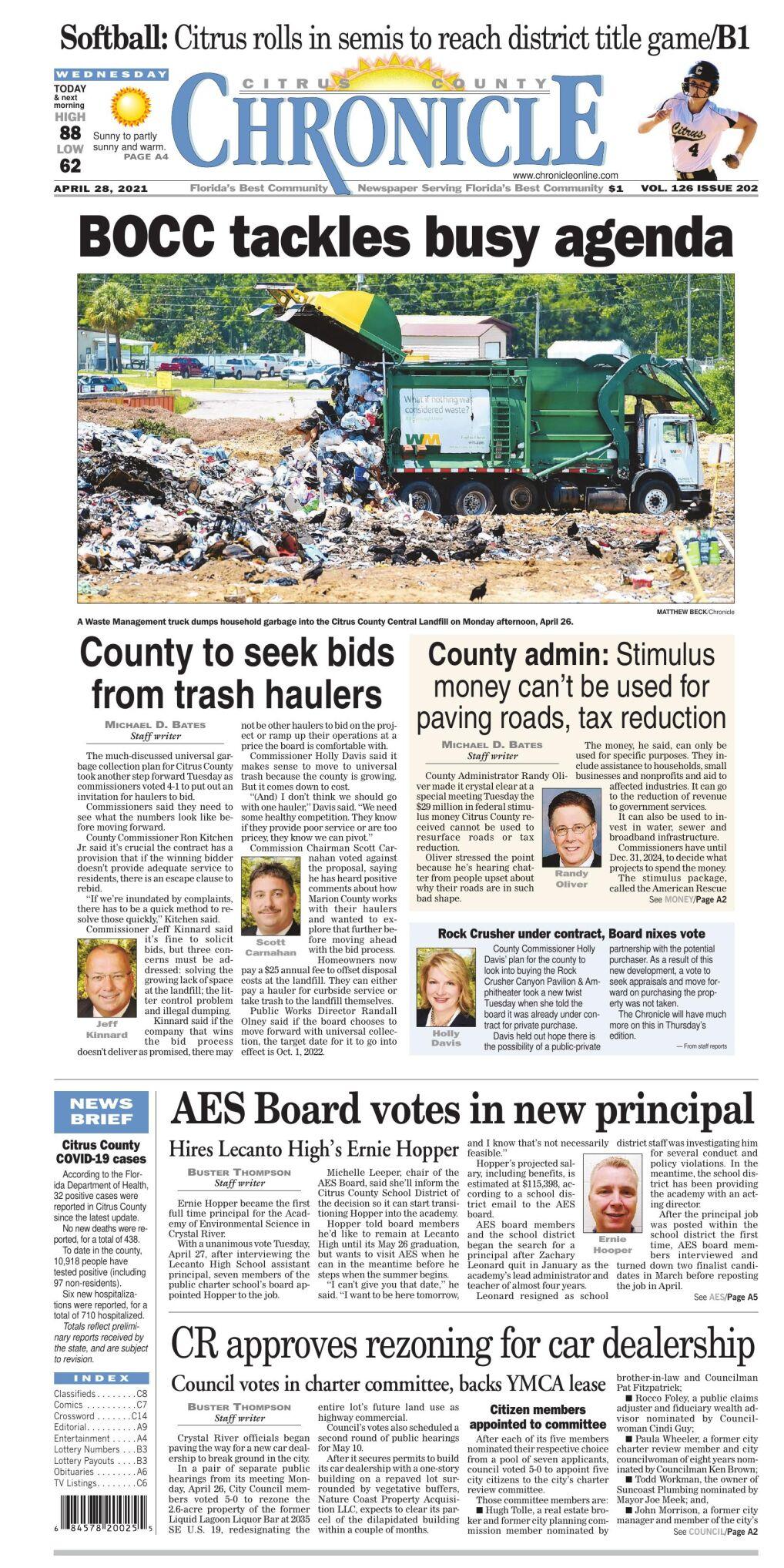 Citrus County Chronicle e edition Apr 28, 2021