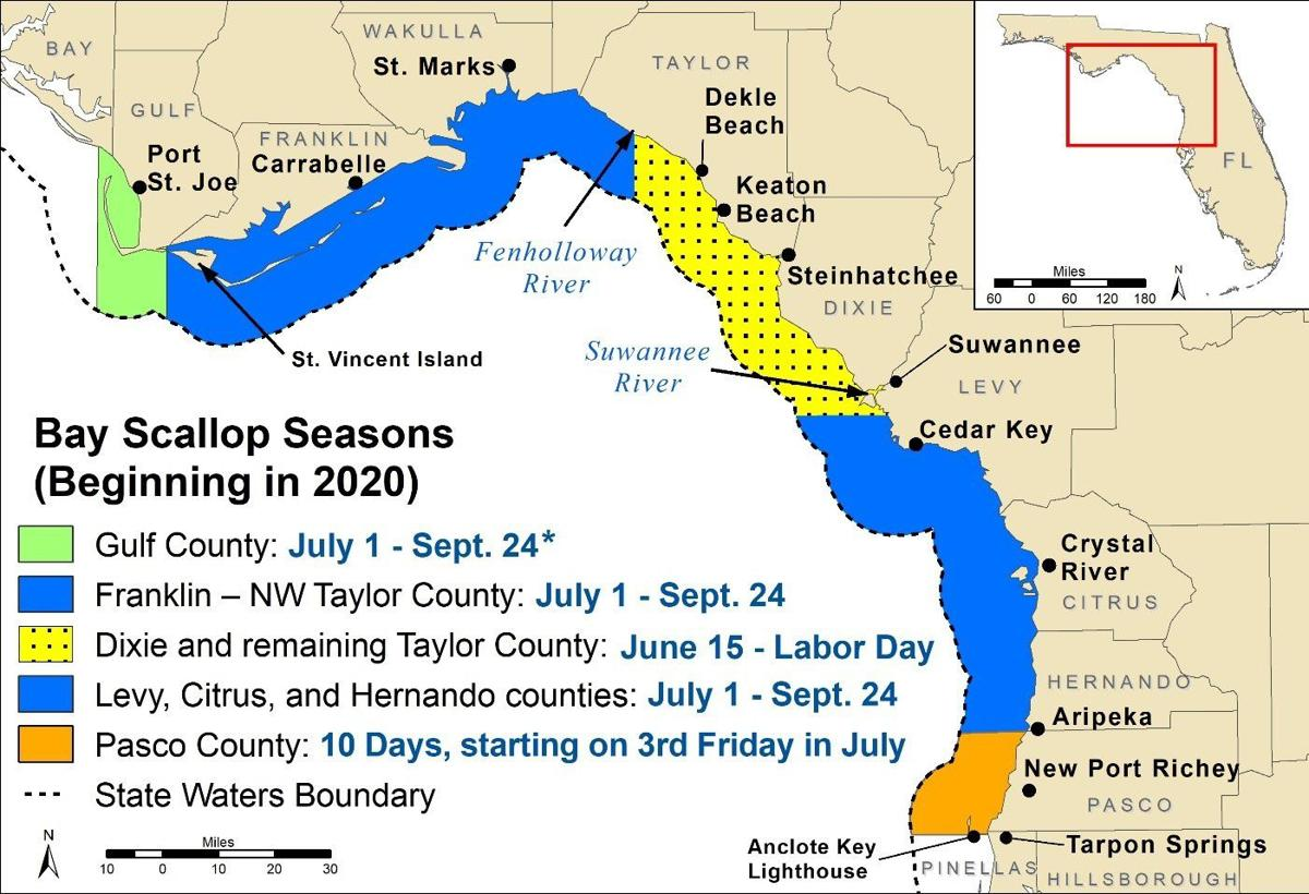 2020 Scallop Season & Beyond Map