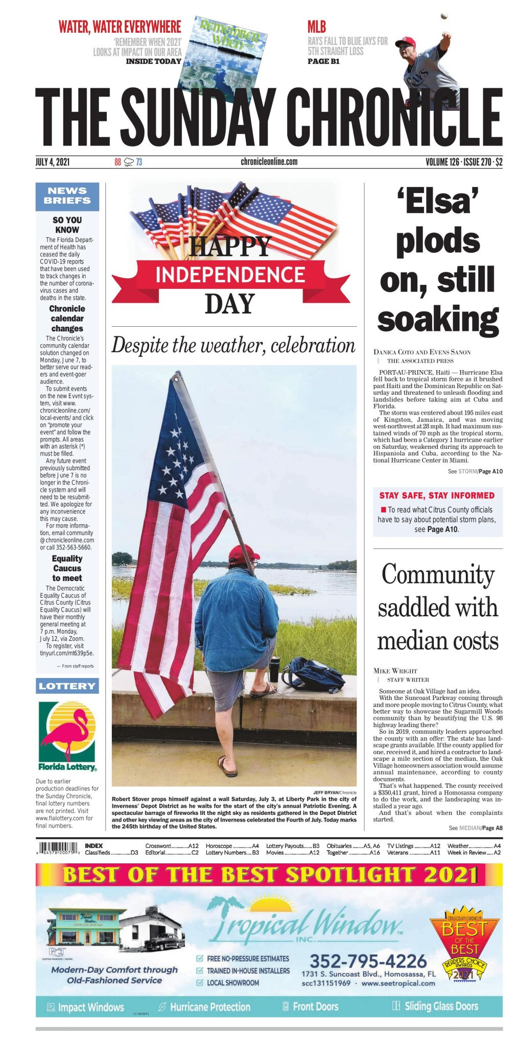 Citrus County Chronicle e-edition July 4, 2021