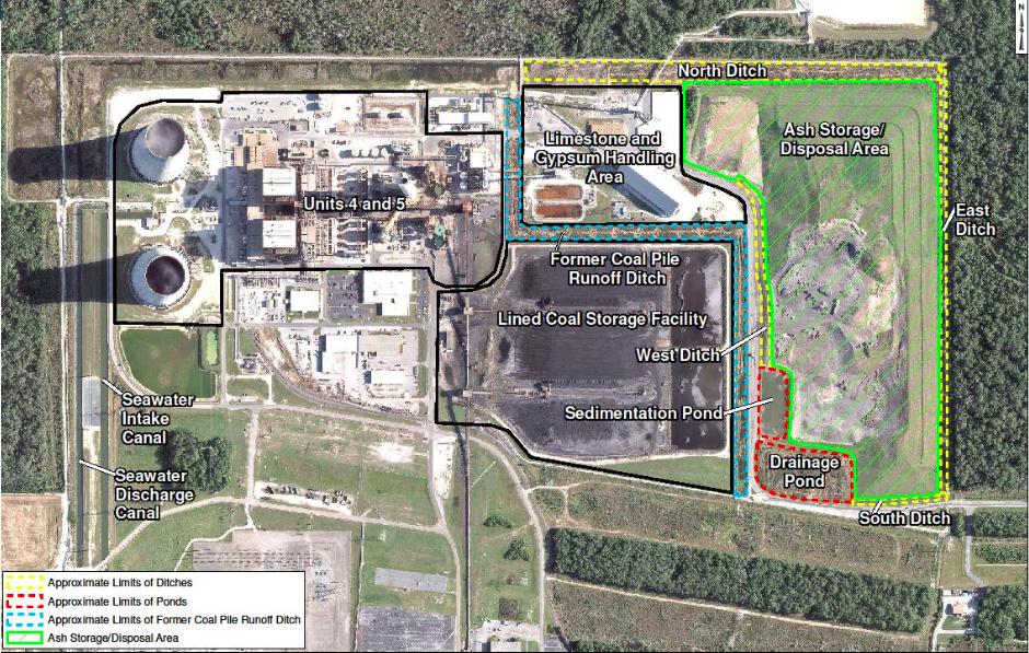 Duke Energy Coal Units Landfill Aerial Image