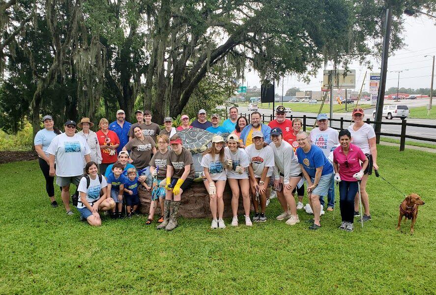 Community teams up at Save Our Waters Week cleanup