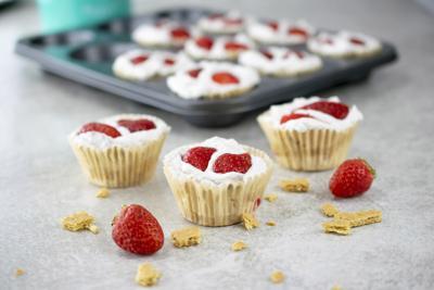 Dole cupcakes