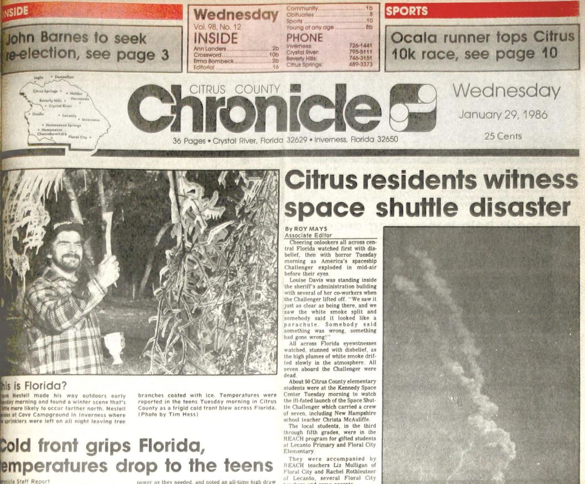 Citrus County Chronicle January 21, 1986