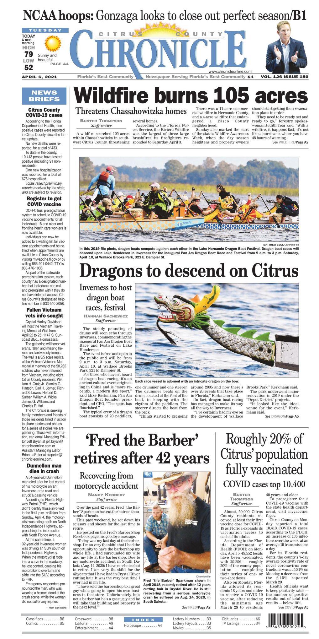 Citrus County Chronicle e edition Apr 6, 2021