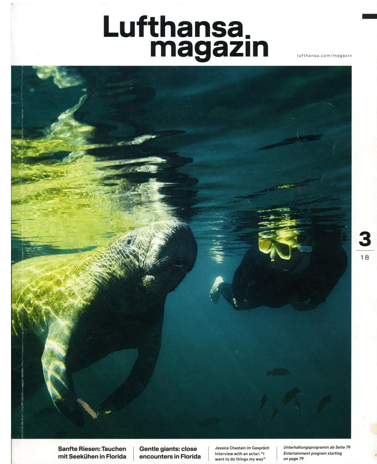 Lufthansa magazin cover | Local News |