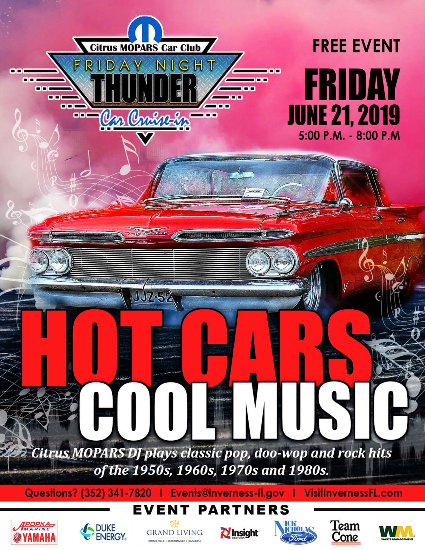 Friday Night Thunder June Poster