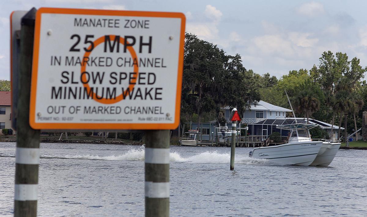 Manatee Boating Speed Zone