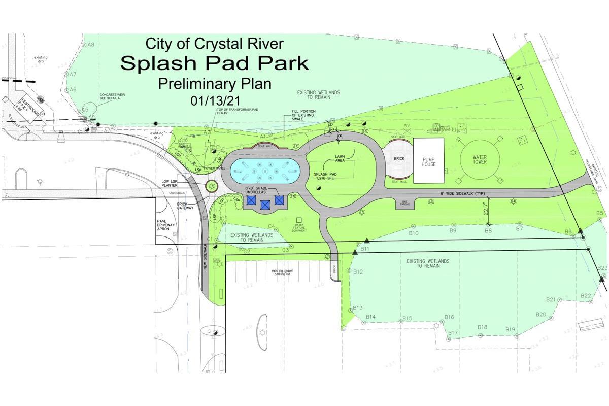 CR Splash Pad Design Draft Jan. 13, 2021