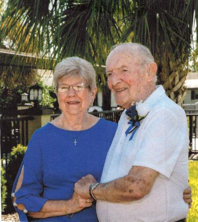 Donald Spencer and Margaret Peters anniversary