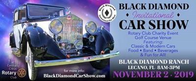 Black Diamond Invitational Car Show flyer