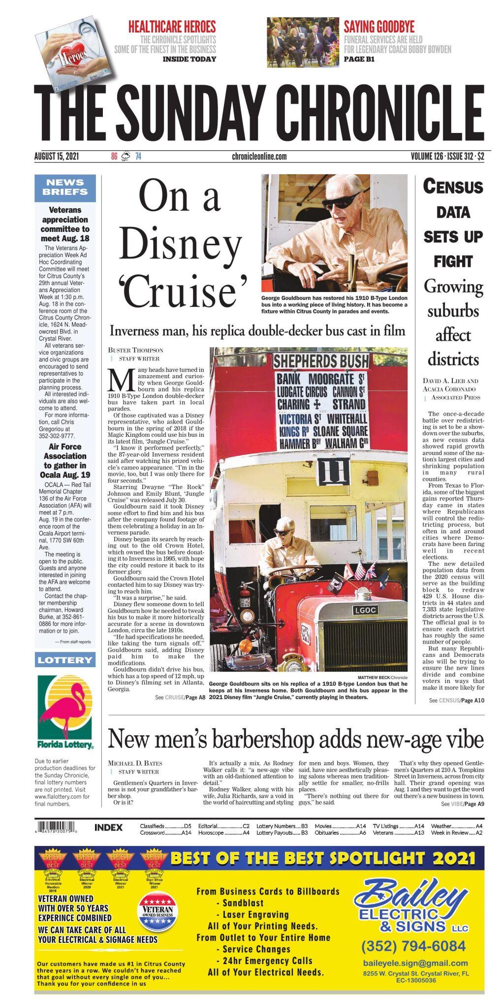 Citrus County Chronicle e-edition Aug 15, 2021