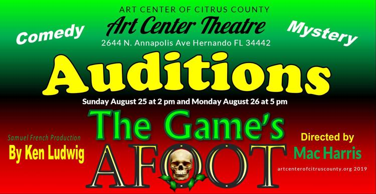 The Games Afoot Auditions
