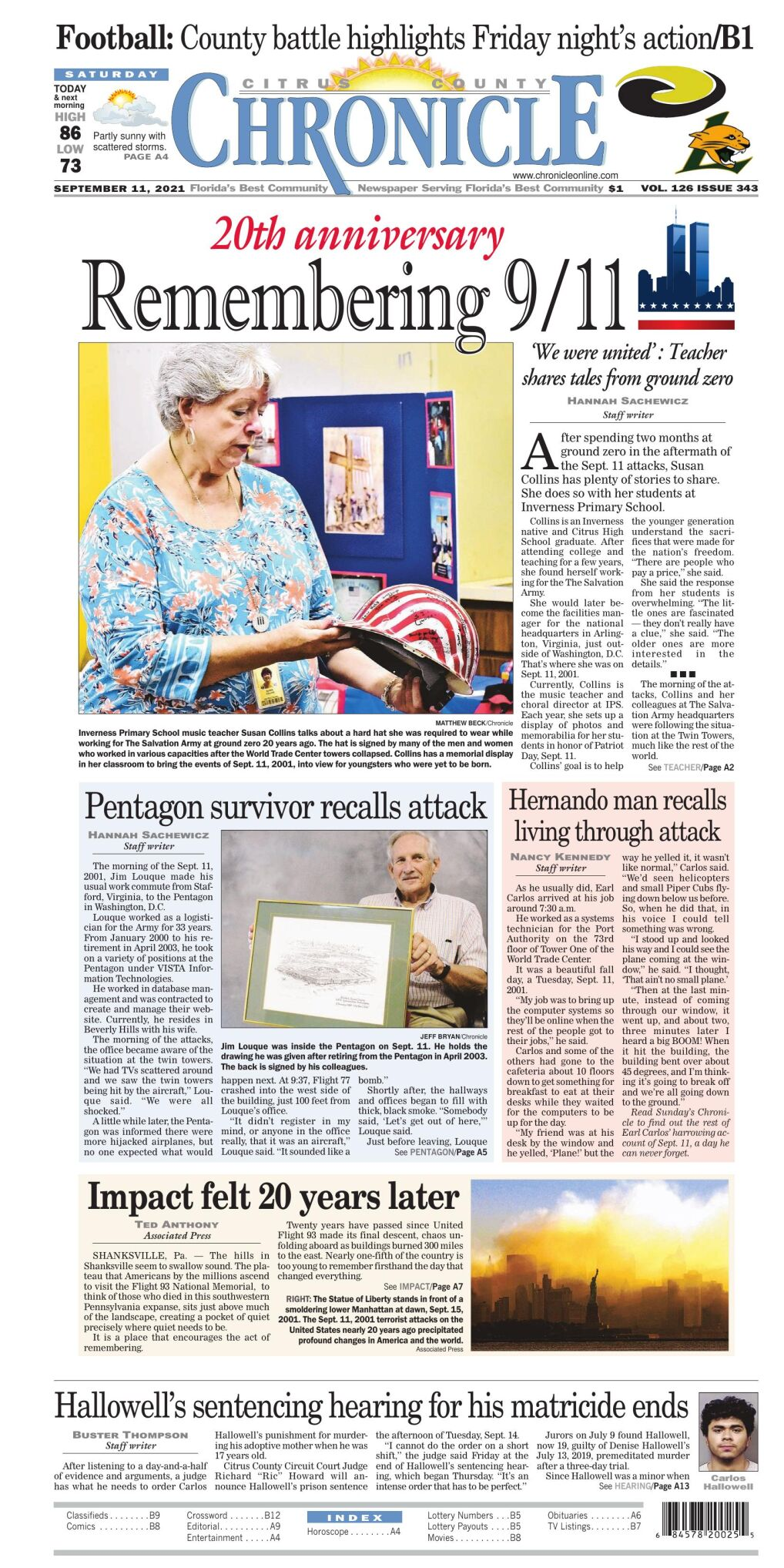 Citrus County Chronicle e-edition Sep 11, 2021