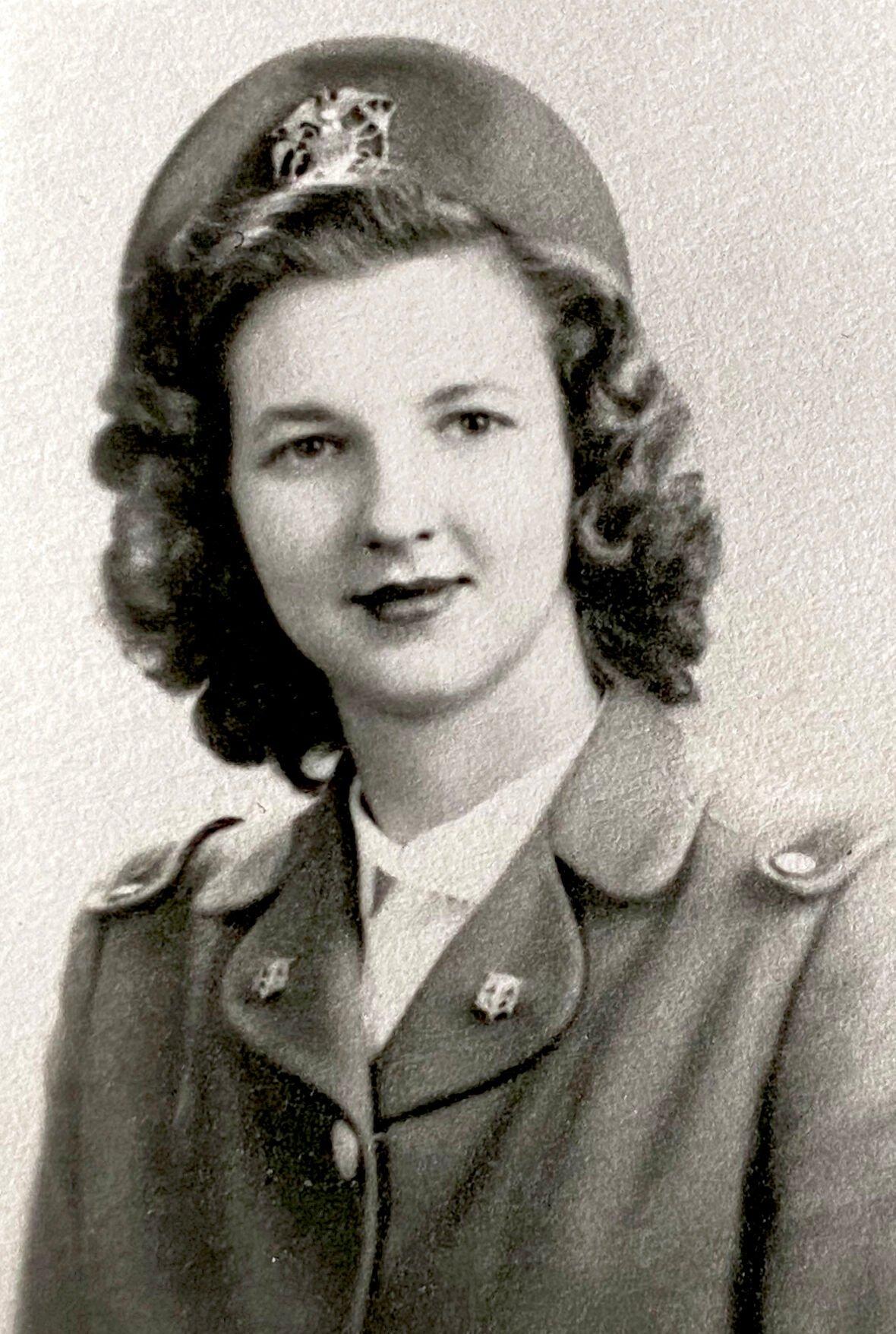 WWII Cadet Nurse Barbara Lincoln
