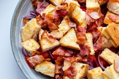 Amish Cook cornbread salad 1014