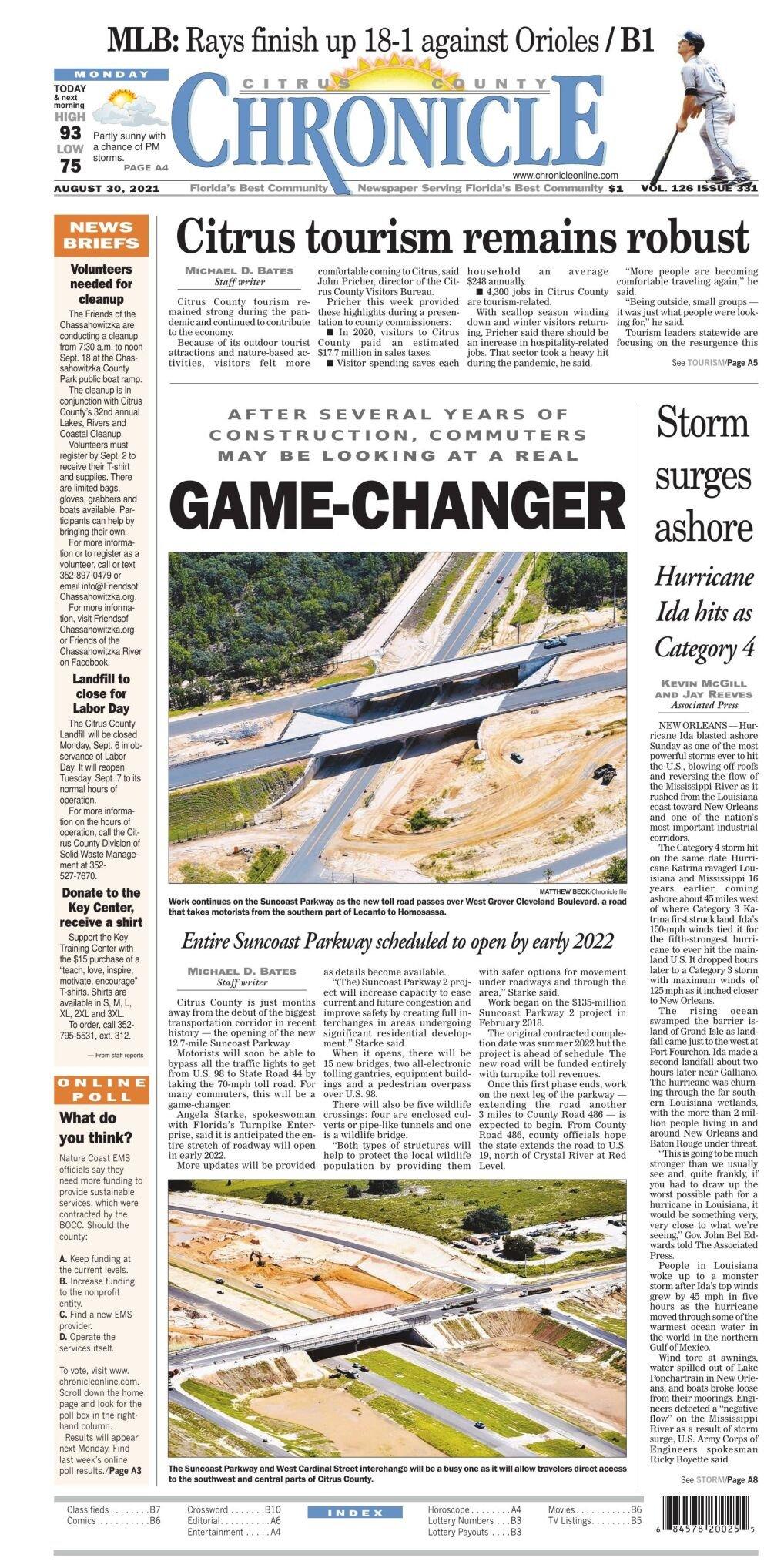 Citrus County Chronicle e-edition Aug 30, 2021