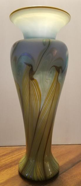 Vase Probably Isnt An Original Tiffany But A Reproduction Real
