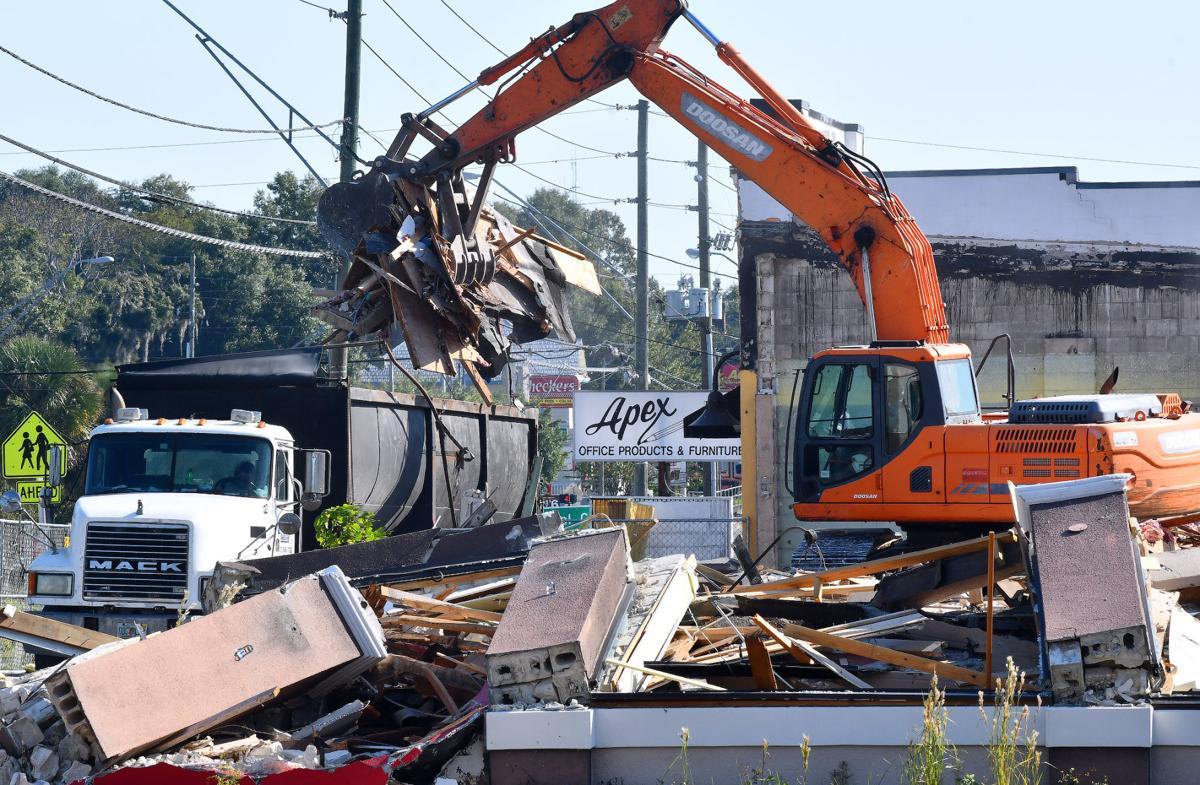 Building demolished