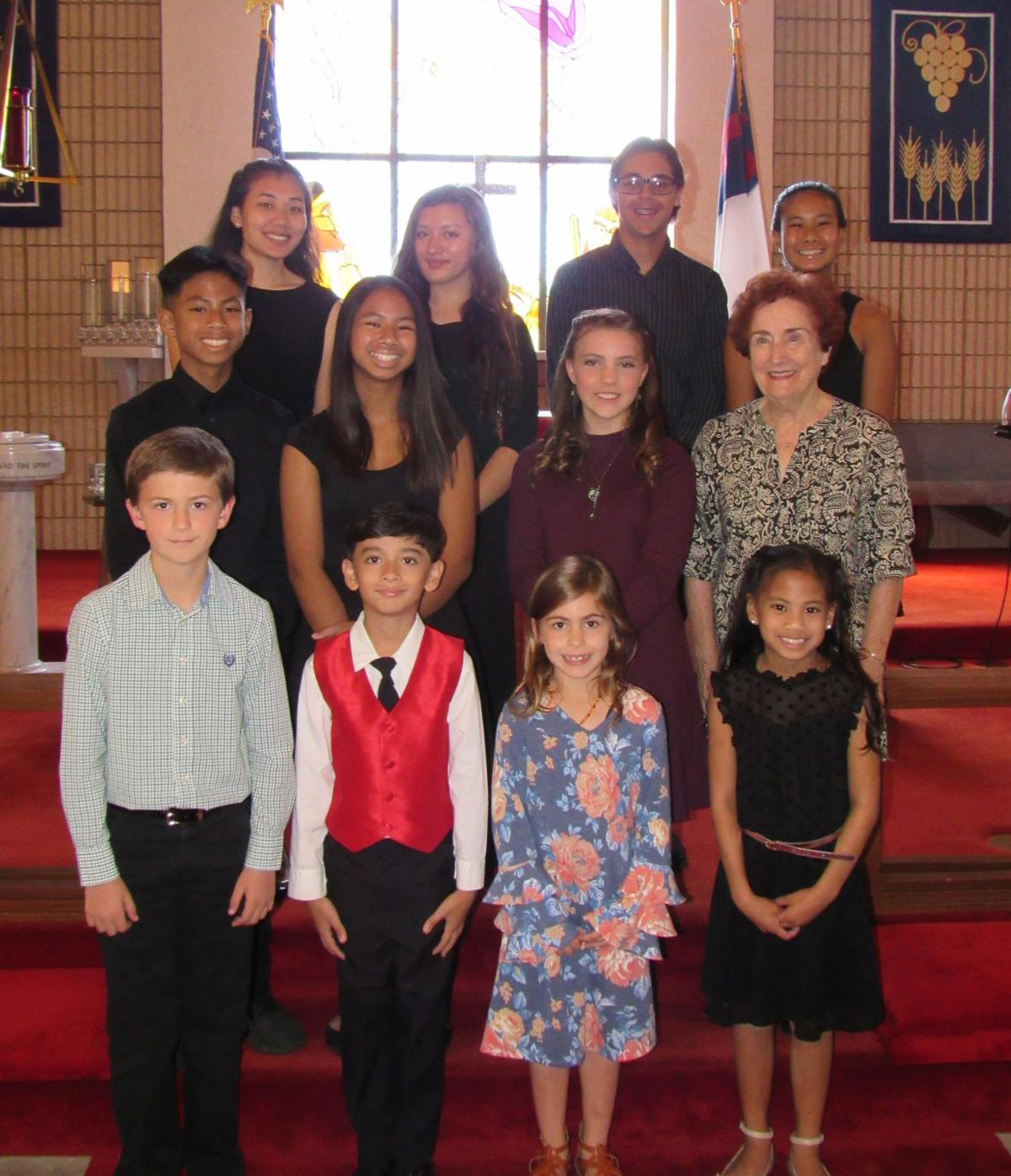 Citrus County Music Society students perform at recital