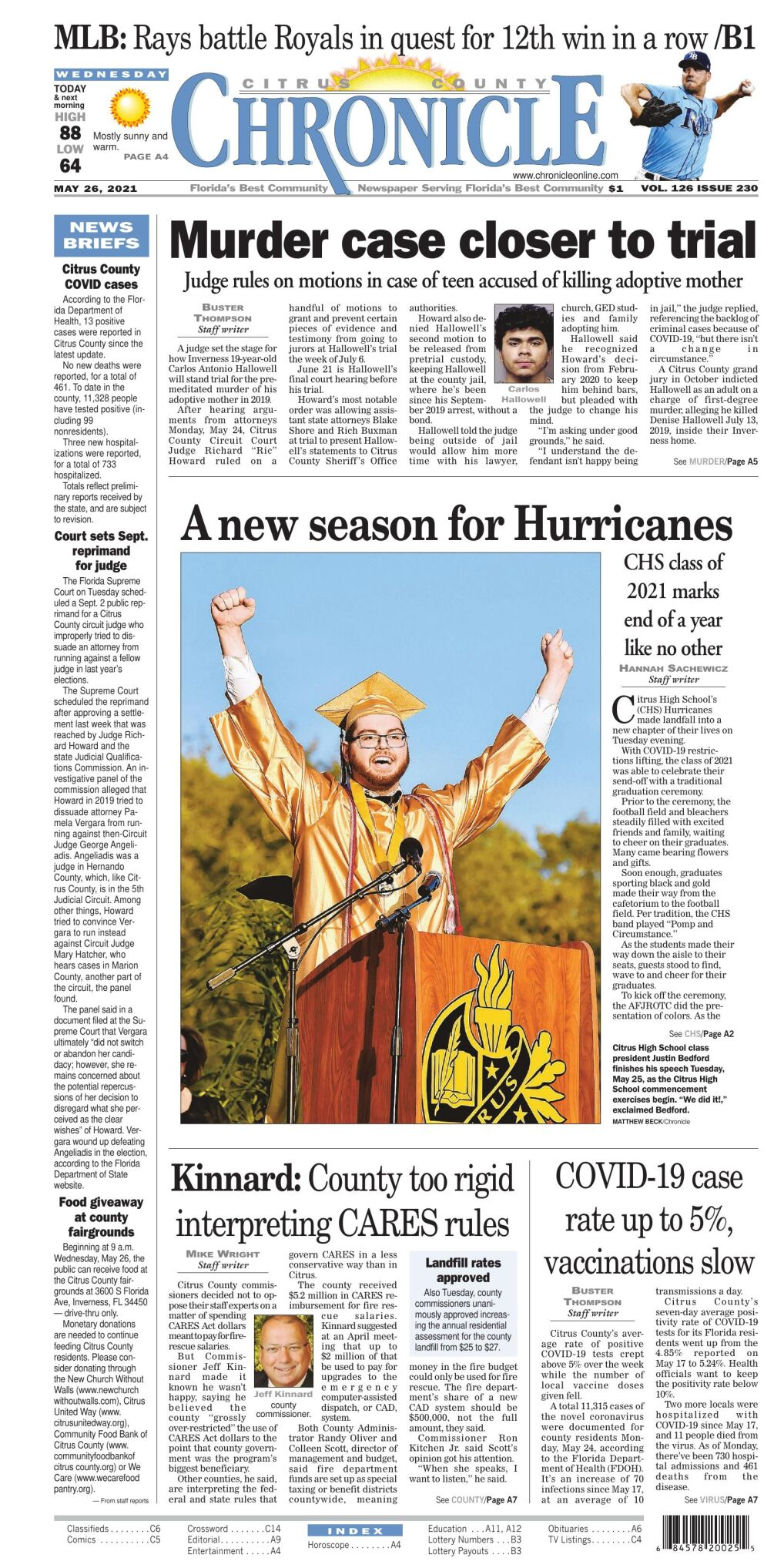 Citrus County Chronicle e edition May 26, 2021