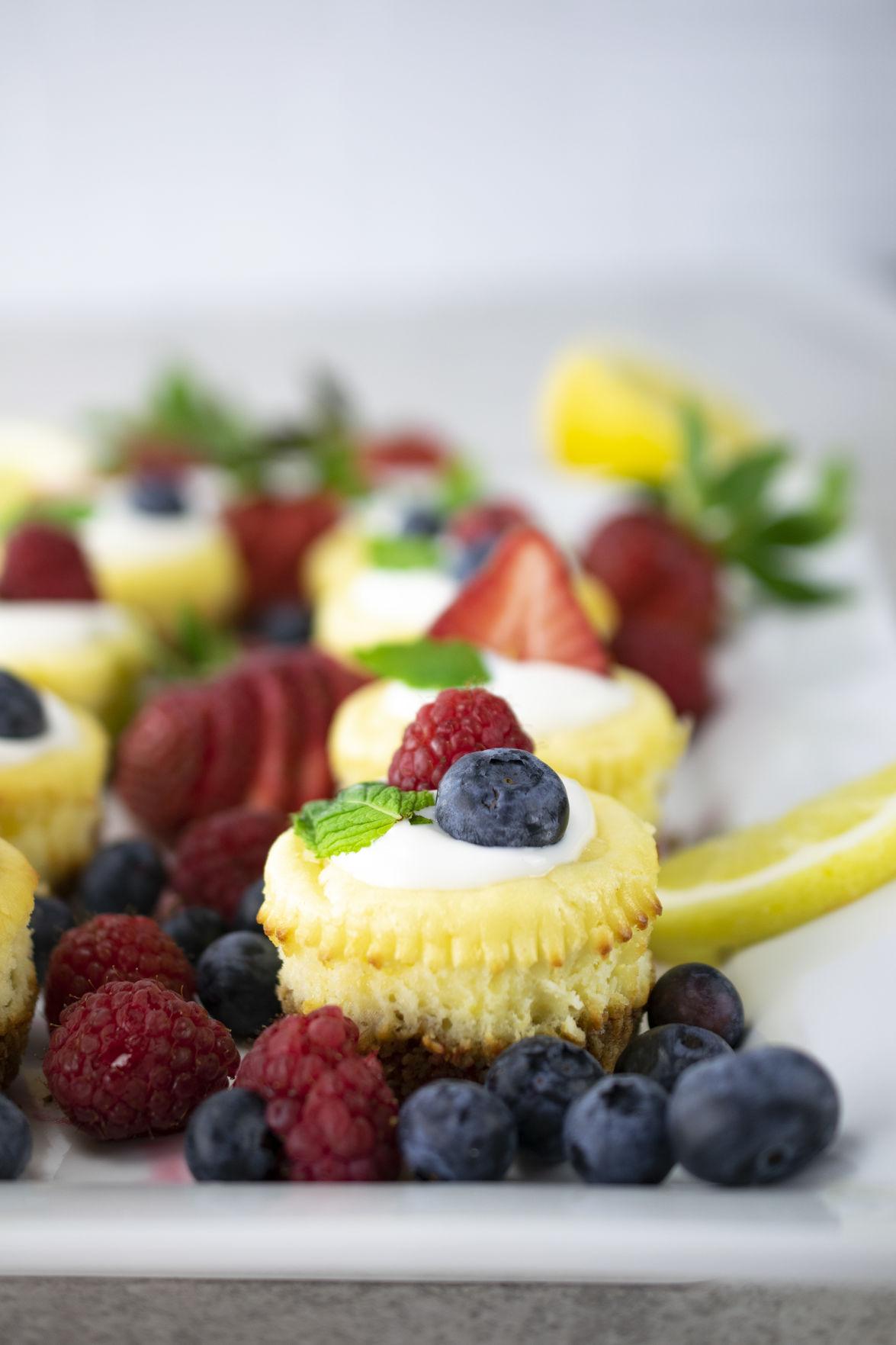 Cheesecake Cupcakes A