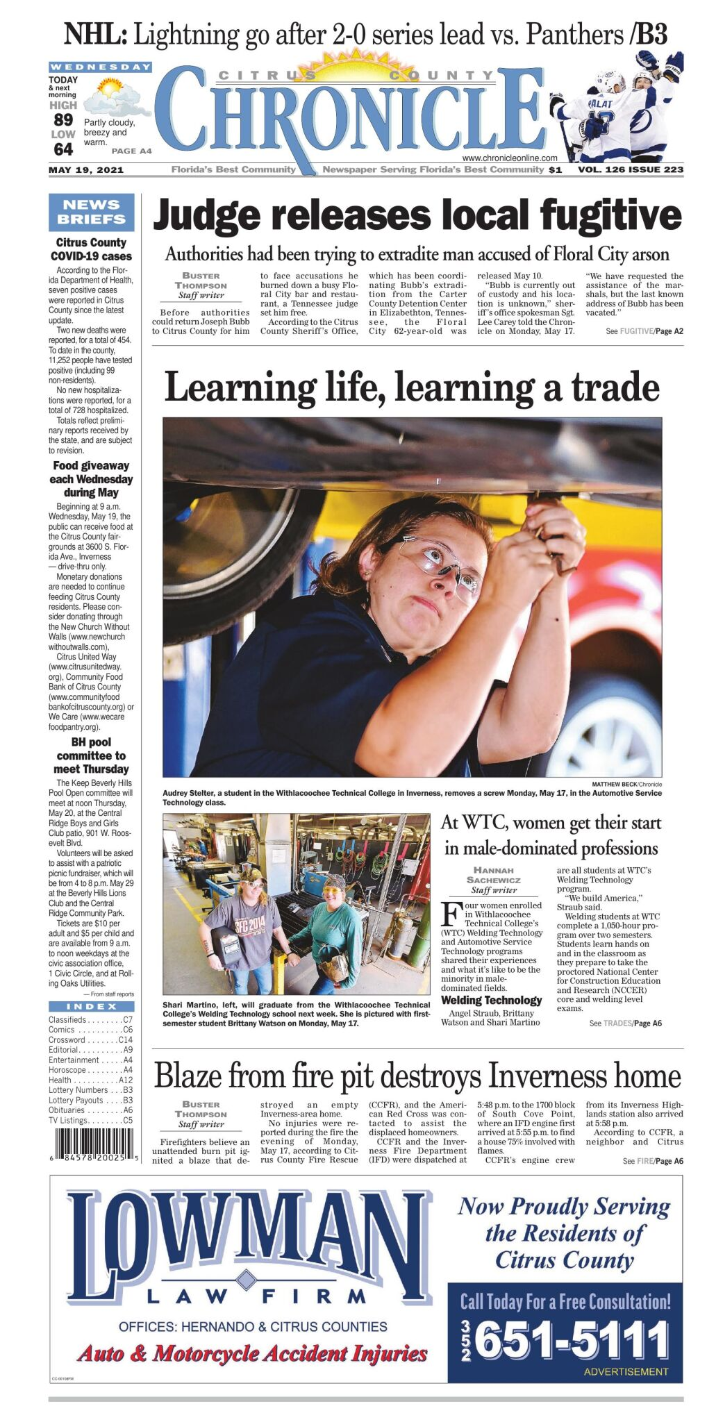 Citrus County Chronicle e edition May 19, 2021