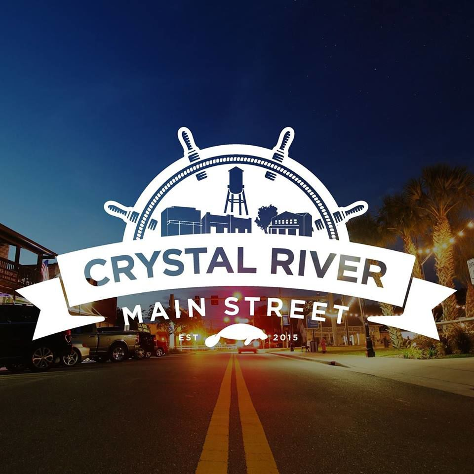 Crystal River Main Street Logo