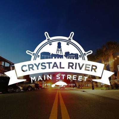 Crystal River Main Street Logo